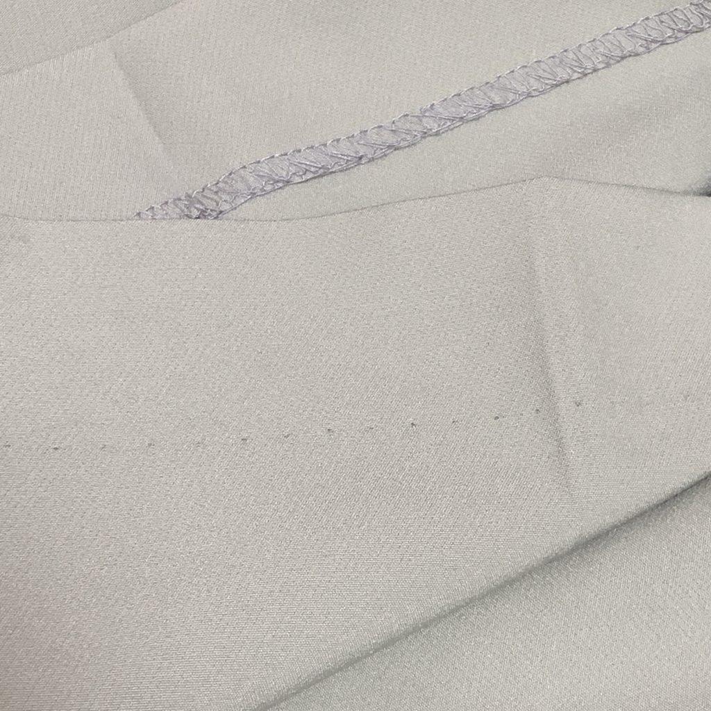 GU ストレッチストレートパンツQ ライトグリーン カラーパンツ おすすめ 裾補正 まつり縫い ピスタチオカラー