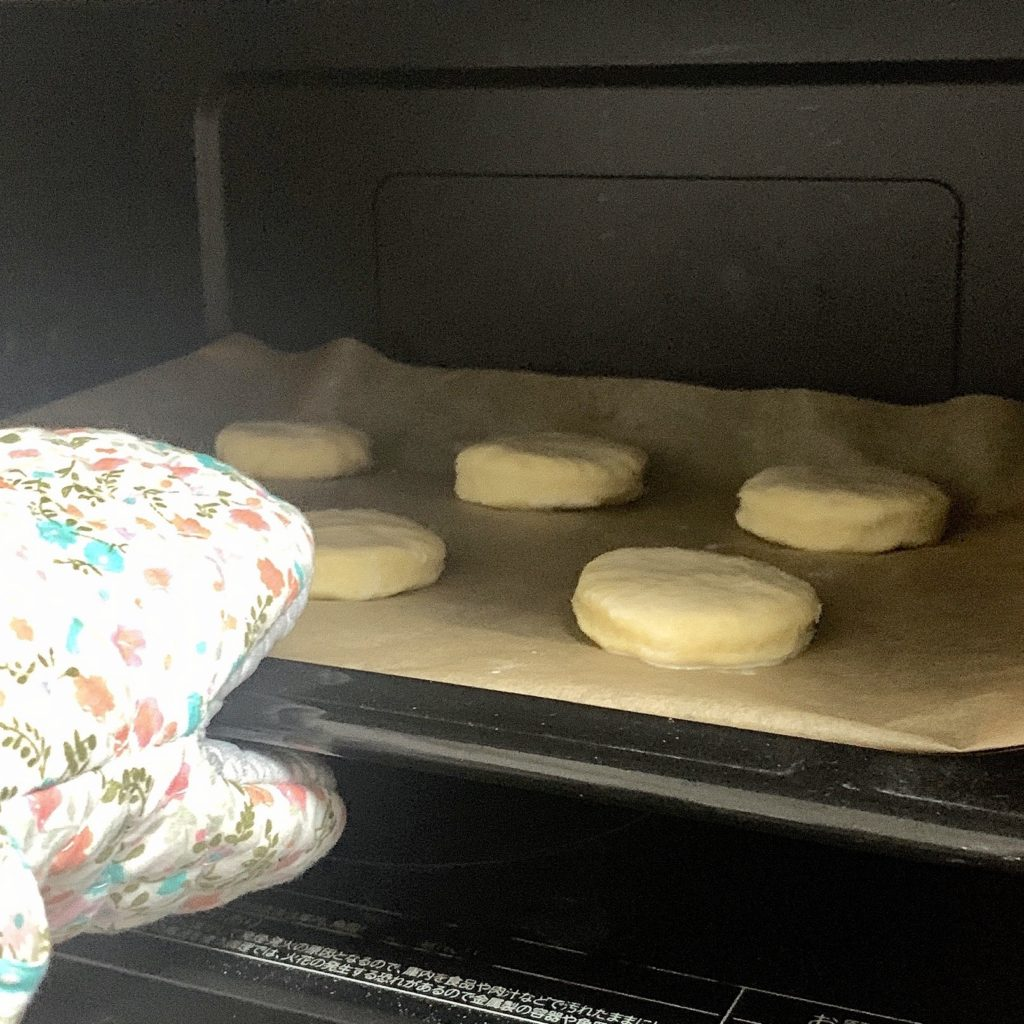 ビスケット スタバ おすすめ 簡単な 作り方 レシピ 生地 オーブンで焼き上げる