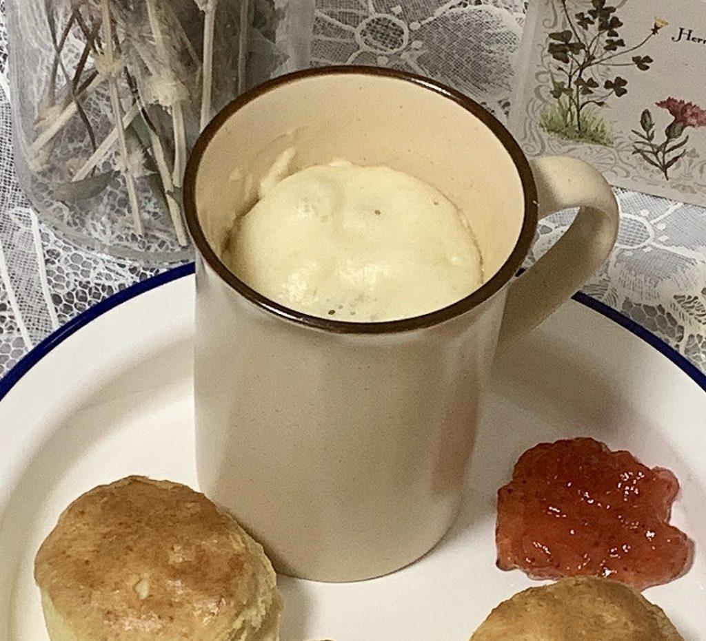 蒸しパン マグカップ レンジ 簡単 五分 レンジ 水なし ホットケーキミックス