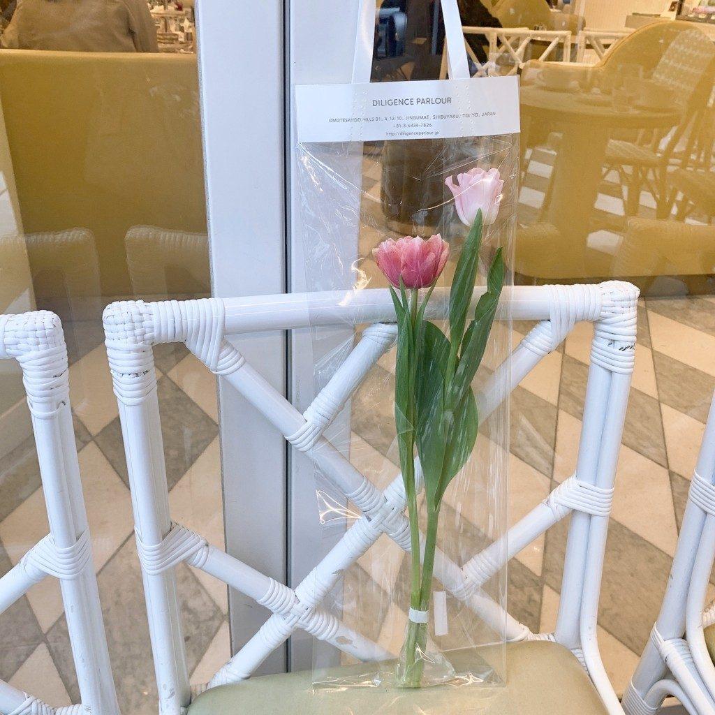 チューリップ 造花 生花 インテリア 韓国雑貨 韓国 模様替え 通販 お店 DILIGENCE PARLOUR ディリジェンスパーラー