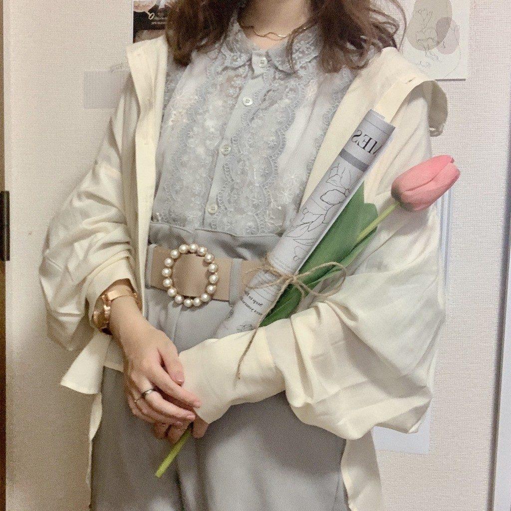 チューリップ 造花 生花 インテリア 韓国雑貨 韓国 模様替え 通販 お店 飾り方 コーデ撮影