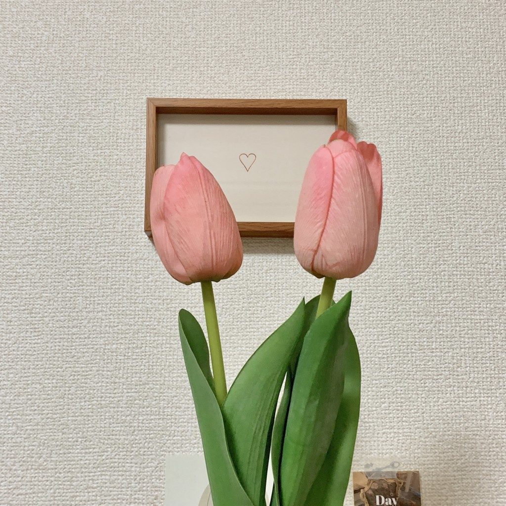 チューリップ 造花 インテリア 韓国雑貨 韓国 模様替え 通販 お店 飾り方
