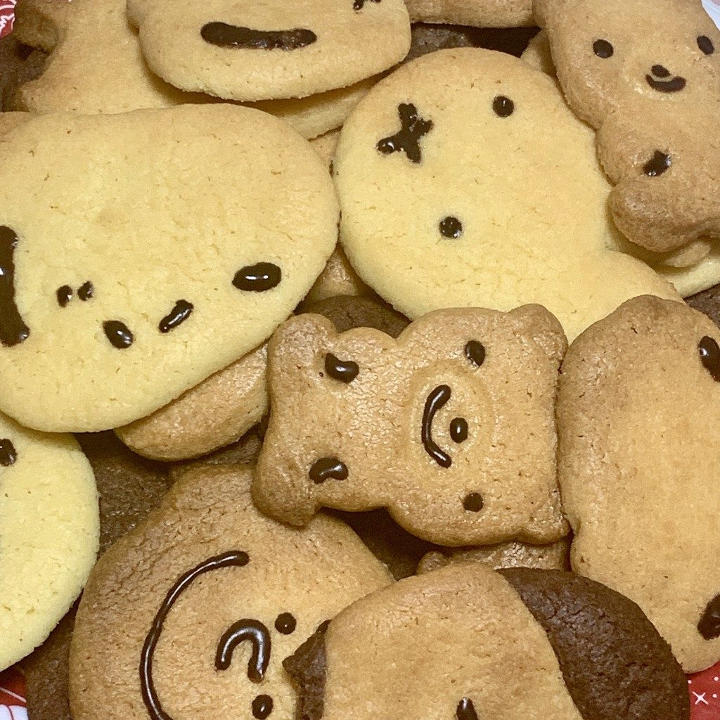 クッキー サクサク キャラクター モチーフ アレンジ レシピ 作り方 型抜き バター インスタ映え