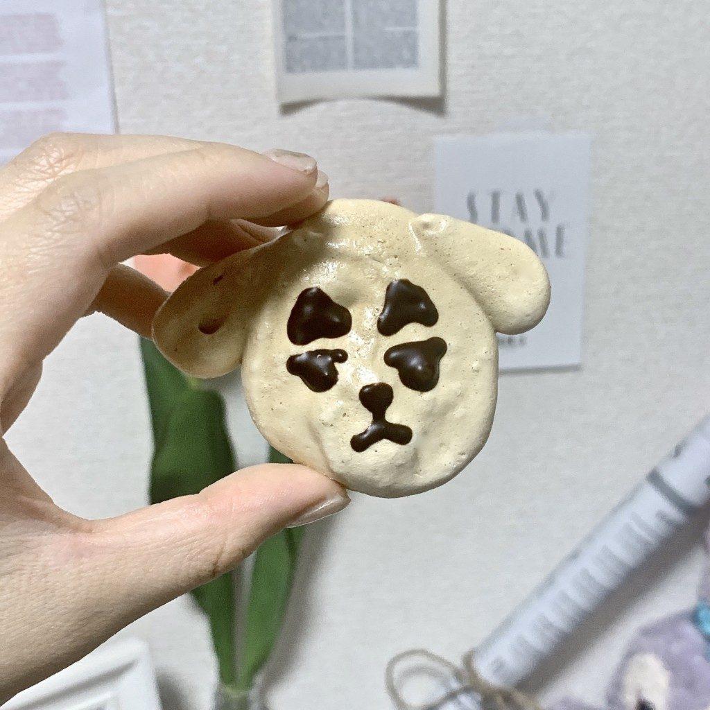 クッキー メレンゲクッキー 卵白 簡単 レシピ 作り方 犬 キャラクター 可愛い  消費期限 保存方法