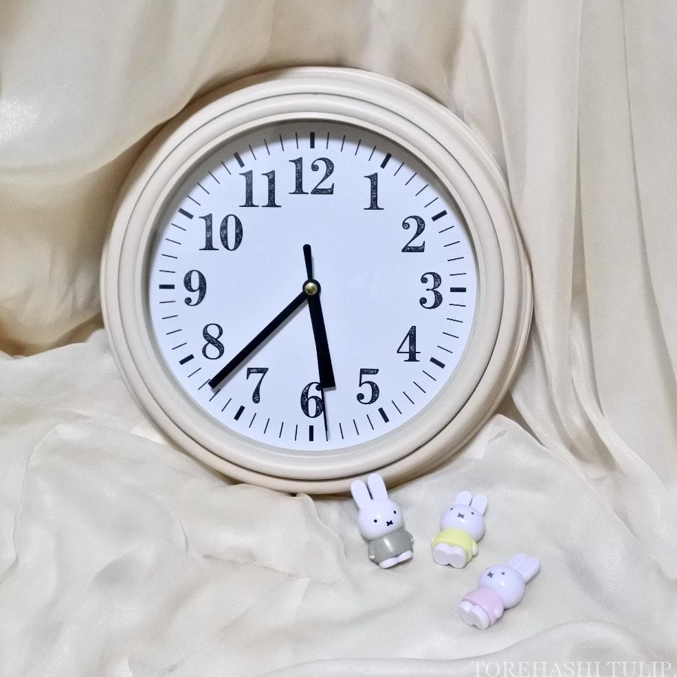韓国 お部屋 模様替え 可愛い インテリア雑貨 購入品 おすすめ 2020年 プチプラ 機能性 おうちカフェ 3COINS 3コインズ アンティーク時計 壁掛け時計