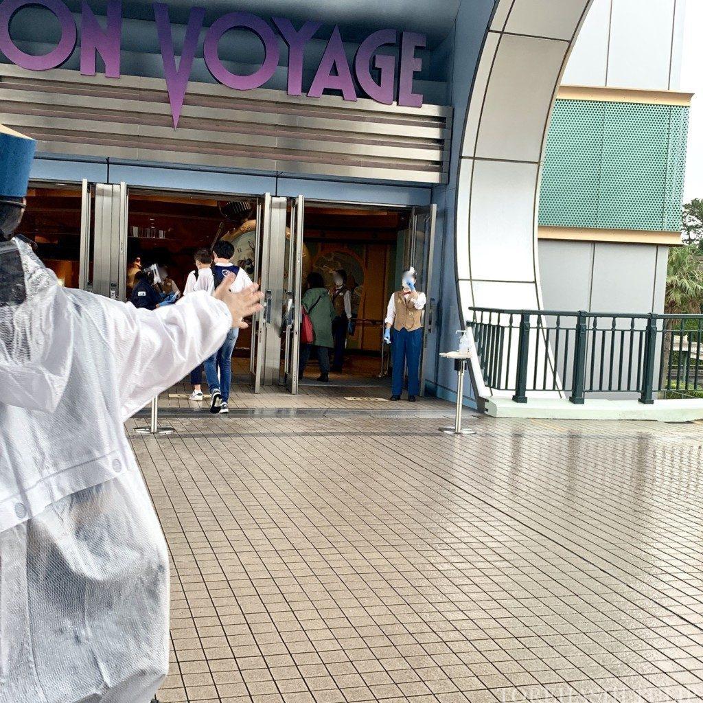 ボン・ヴォヤージュ ボンボヤージュ ディズニー ストア 来店予約 解説 様子 レポ 行ってみた