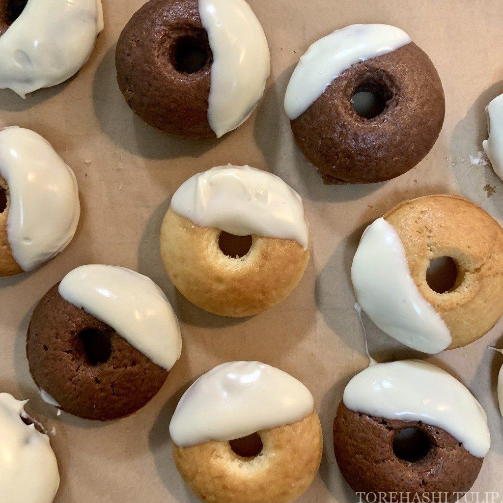 ベイクドドーナツ 揚げない ドーナツ ヘルシー おうちカフェ レシピ 作り方 簡単 ホットケーキミックス デコレーション