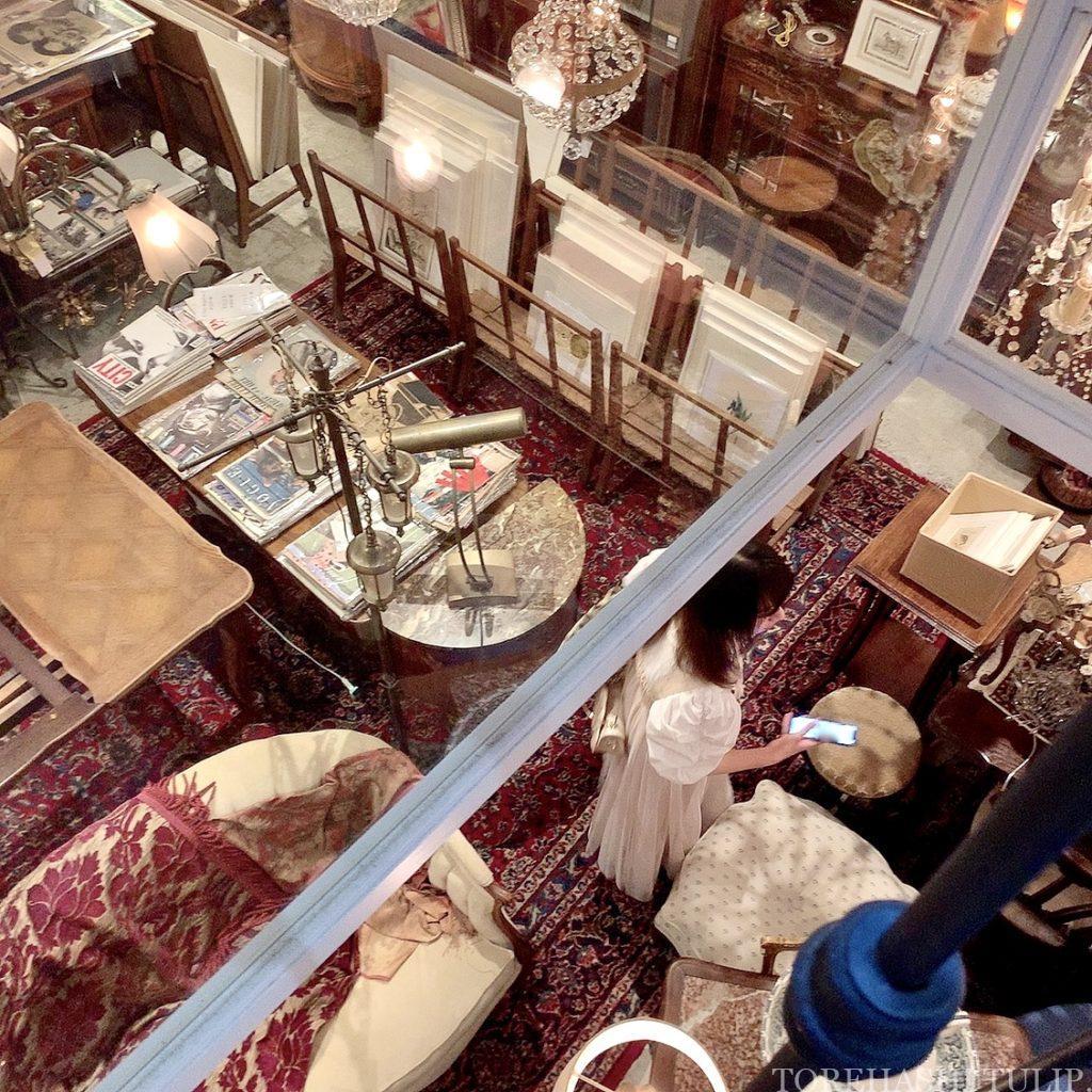 三軒茶屋カフェ 下馬 マジョレルカフェ アンティークギャラリー・マジョレル 自家製プリン レトロカフェ 東京カフェ メニュー ギャラリー