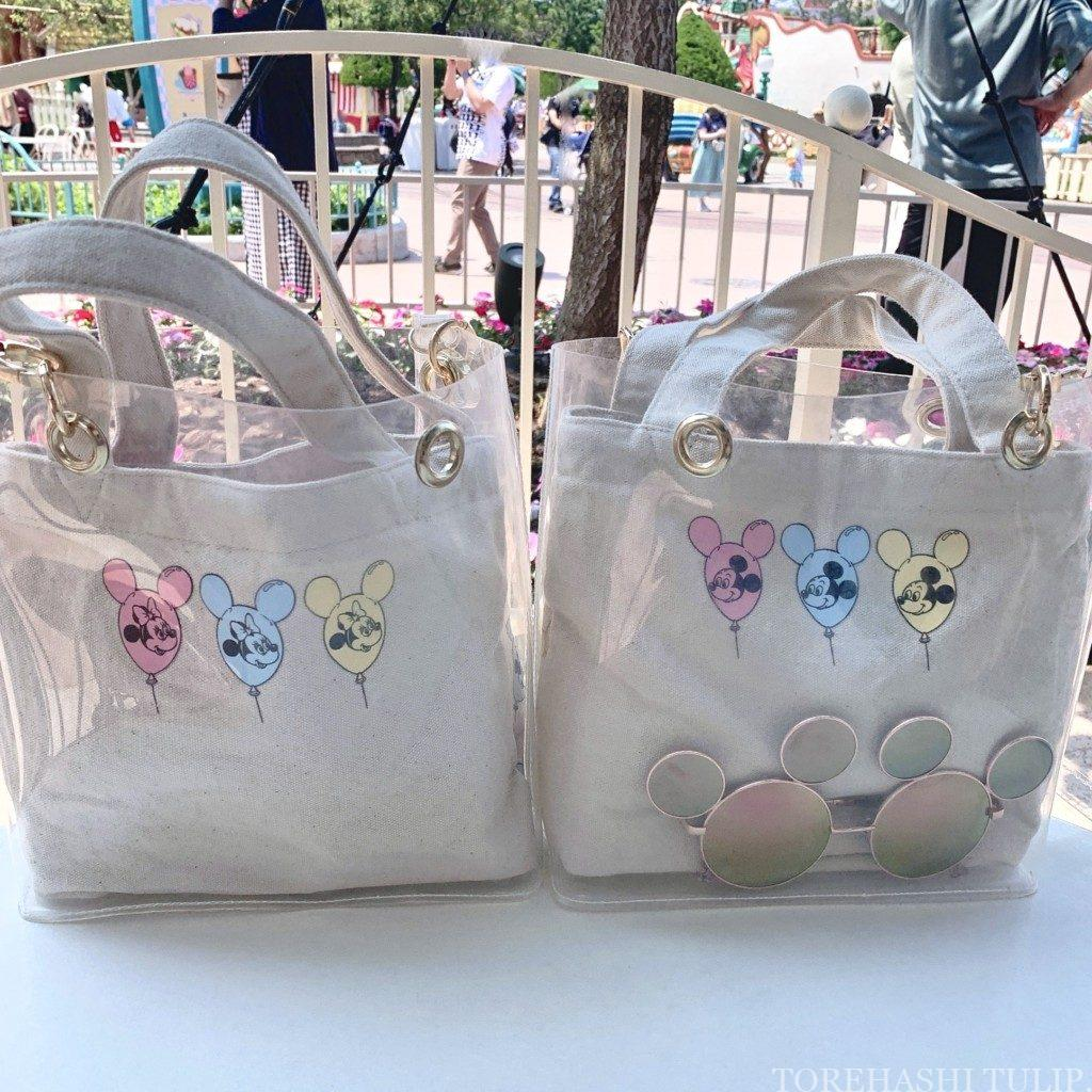 再開後ディズニー マスクディズニー 夏ディズニー ディズニーランド 熱中症対策 コロナウイルス感染予防対策 必須の持ち物 パークの様子 トートバッグ