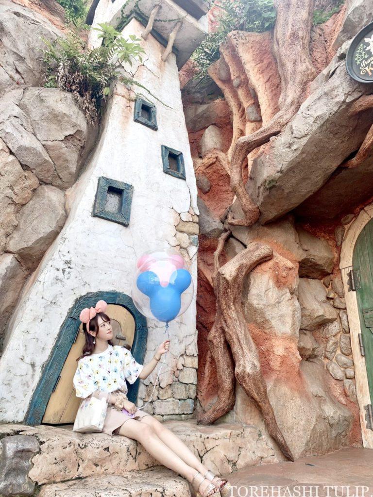 ミッキーバルーン 風船ディズニー ディズニーランド 再開後 バウンドコーデ インスタ映え 写真スポット ポーズ クリッターカントリー