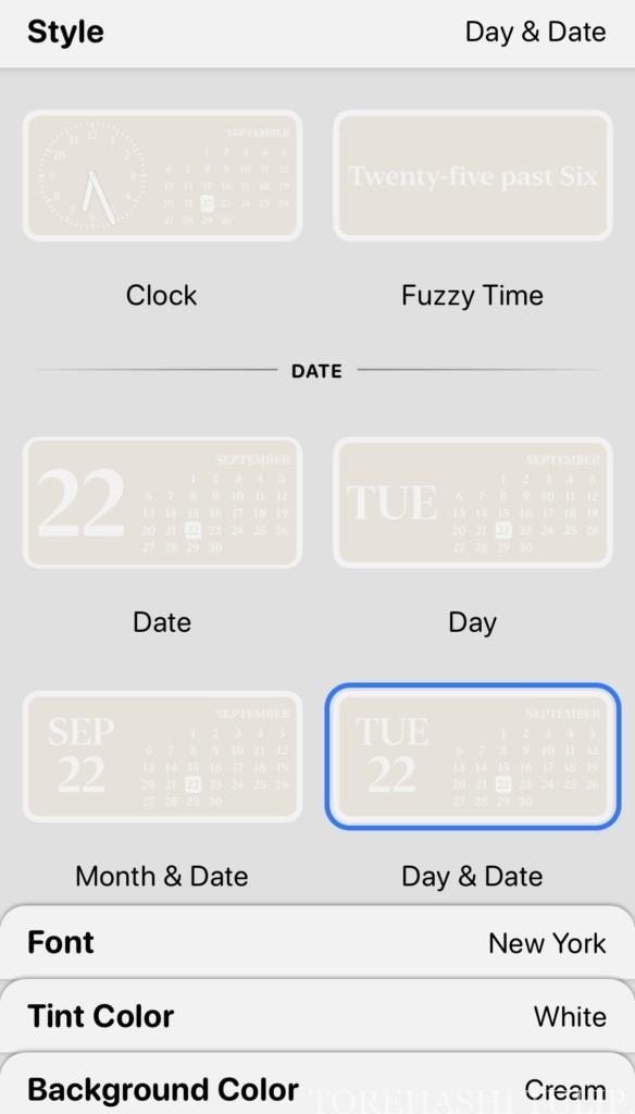 iPhone IOS14 ホーム画面 カスタム ウィジェット Widgetsmith ウィジェットスミス アプリ カレンダー おしゃれ かわいい 使い方 機能