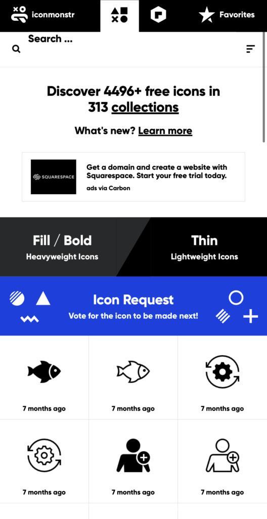 ホーム画面カスタマイズ アプリ アイコン カスタマイズ 変更方法 やり方 アイコンの作り方 アイコン画像画像検索方法 iconmonstr