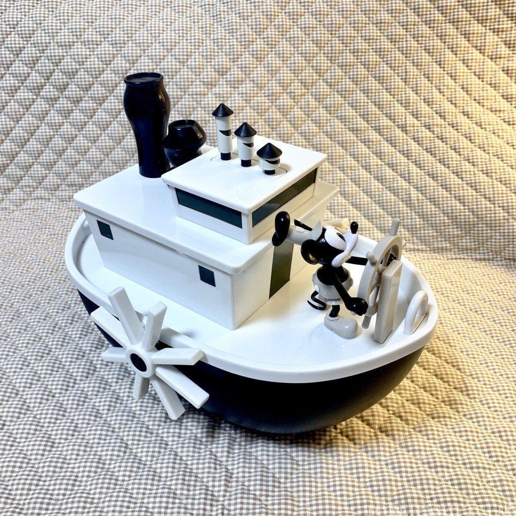 ポップコーンバケット ディズニー 蒸気船ウィリー 洗い方 開け方 取り外し