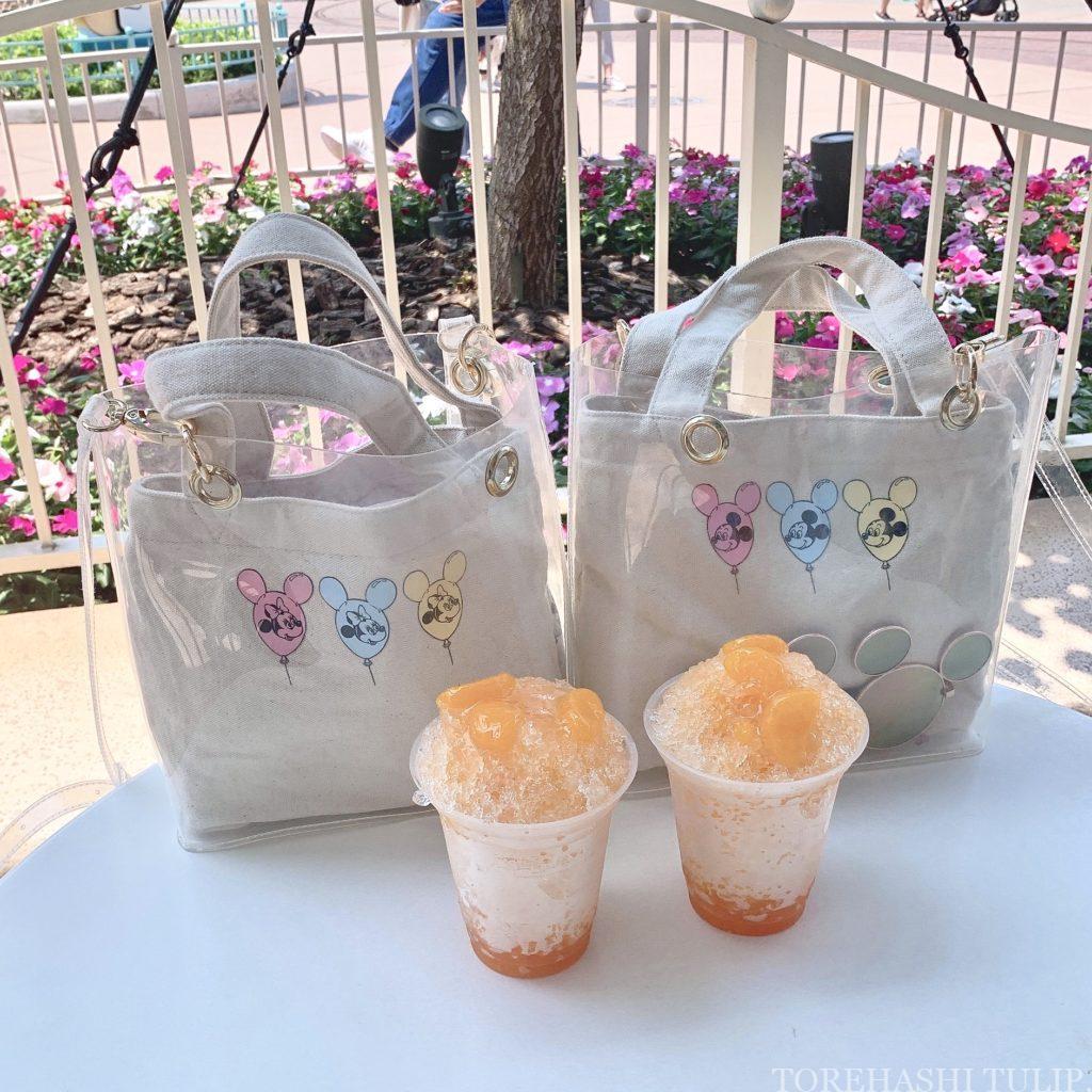 夏 2020 ディズニーランド ディズニーシー ひんやりスイーツ アイスクリーム パーク限定 シェイブアイス かき氷 インスタ映え みかん味