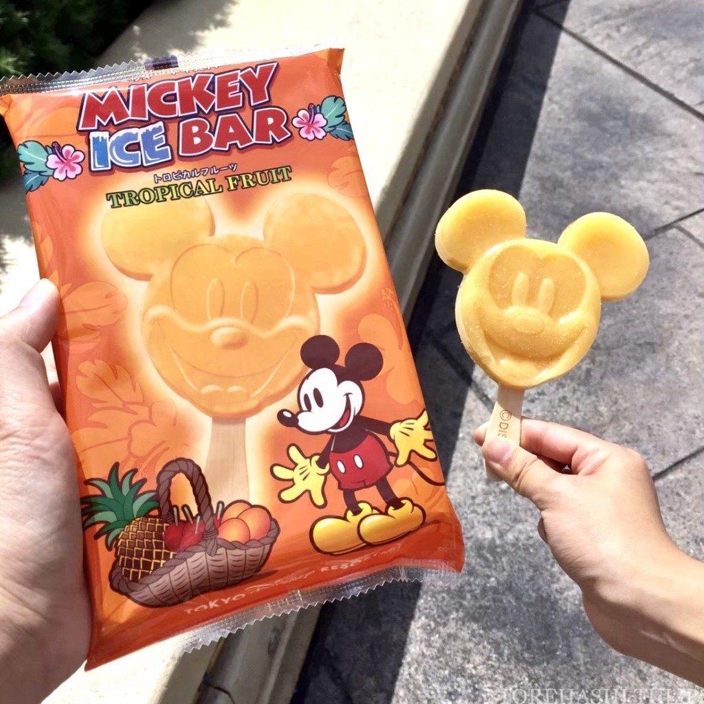 夏 2020 ディズニーランド ディズニーシー ひんやりスイーツ アイスクリーム パーク限定 ミッキーアイスバー インスタ映え