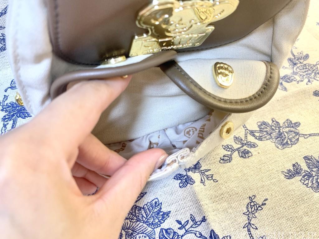 ダッフィー&フレンズ キャリーミー・ポシェット オールウェイズスマイル・ウィズ・ダッフィー&フレンズ リュック レビュー 販売終了 ポケット