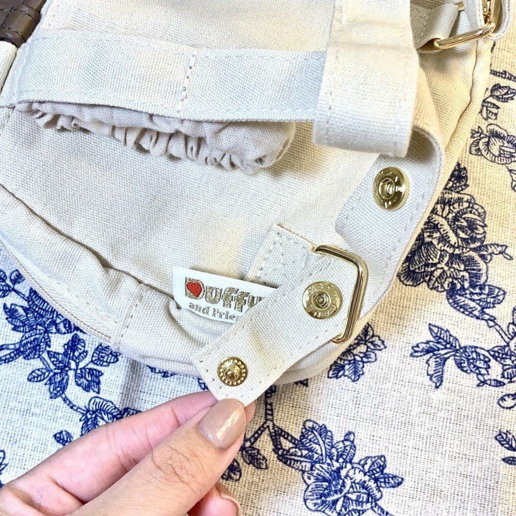 ダッフィー&フレンズ キャリーミー・ポシェット オールウェイズスマイル・ウィズ・ダッフィー&フレンズ リュック レビュー 販売終了 肩掛け 調節ボタン