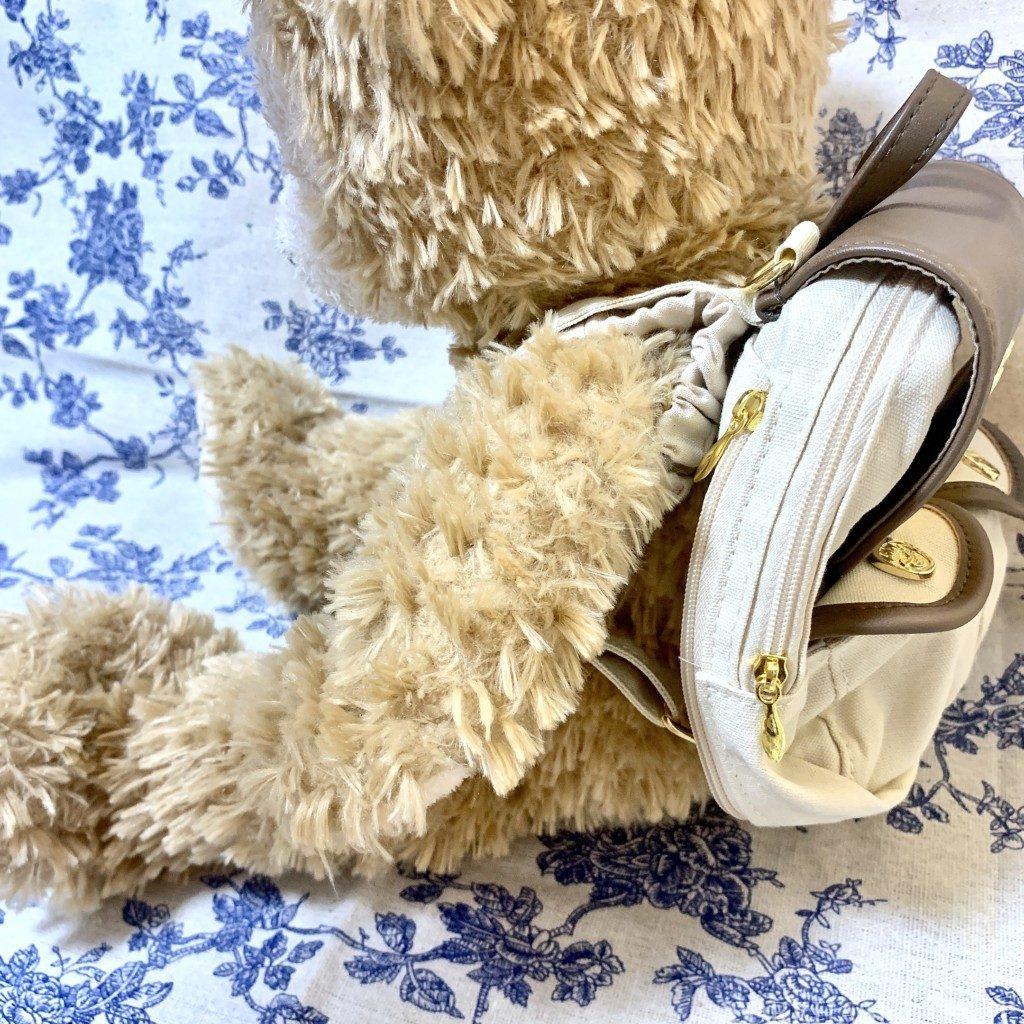 ダッフィー&フレンズ キャリーミー・ポシェット オールウェイズスマイル・ウィズ・ダッフィー&フレンズ リュック レビュー 販売終了 ダッフィー 専用リュック