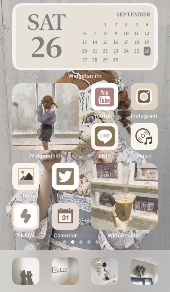 ホーム画面カスタマイズ アプリ アイコン カスタマイズ 変更方法 やり方 アイコンの作り方 アイコン画像画像検索方法 アイコン無料配布 プレゼント