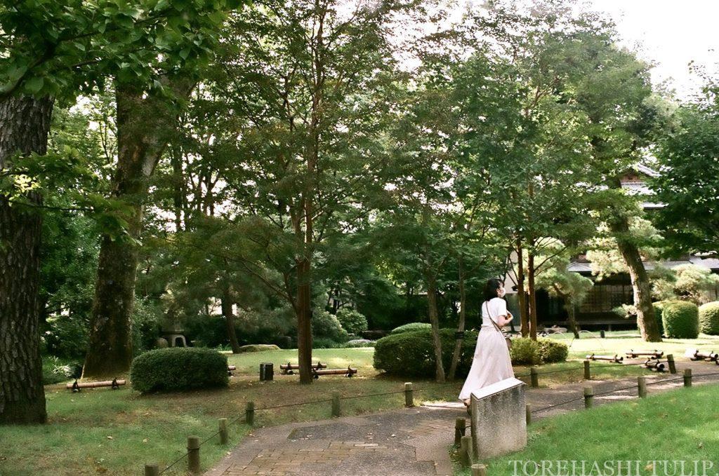 江戸東京たてもの園 千と千尋の神隠し モデル地 ジブリ映画 聖地巡礼 女子旅 ポートレート インスタ映え 高橋是清邸 湯女が寝泊まりする建物