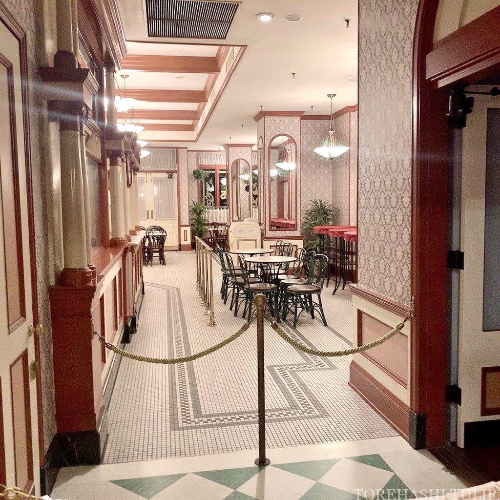 ディズニーランド ホームストア ワールドバザール 写真スポット インスタ映えスポット グレートアメリカン・ワッフルカンパニー