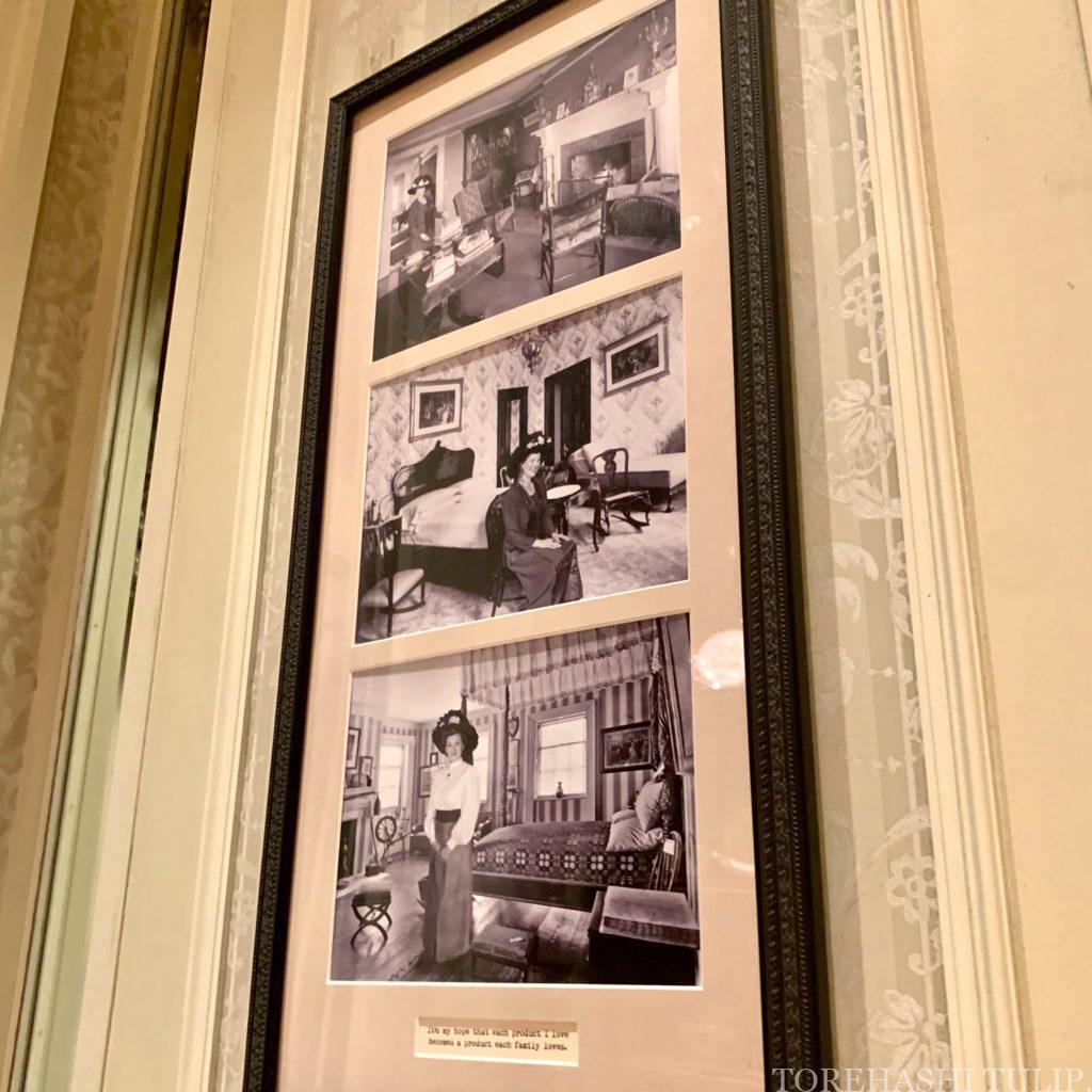 ディズニーランド ホームストア ワールドバザール 写真スポット インスタ映えスポット グレーの壁 マーセリン ミニチュア フィギュア