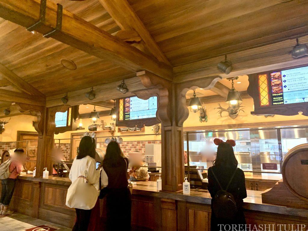 ディズニーランド 新エリア 美女と野獣 レストラン ラ・タベルヌ・ド・ガストン レストラン 予約 メニュー レビュー 店内の様子 ガストンの酒場