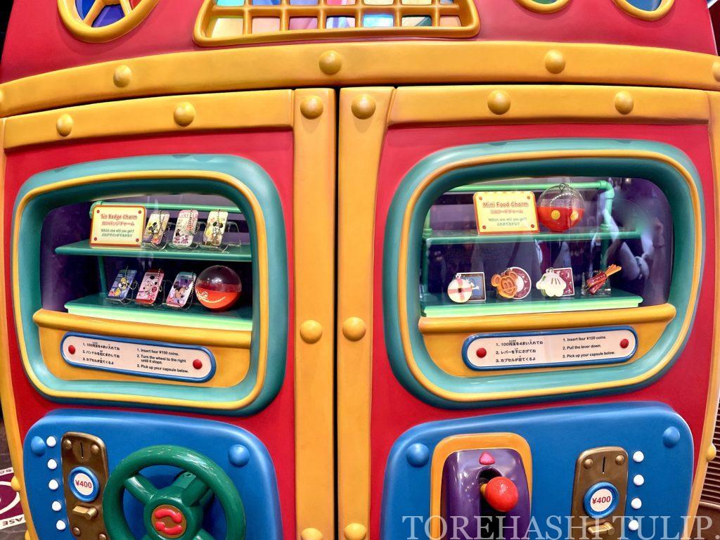 ディズニーランド ガチャガチャ カプセルトイ レトロエコバッグ 再販売 販売場所 値段 種類 レビュー 期間限定 ミニフードチャーム ミニーのスタイルスタジオ缶バッジ ディズニーランド