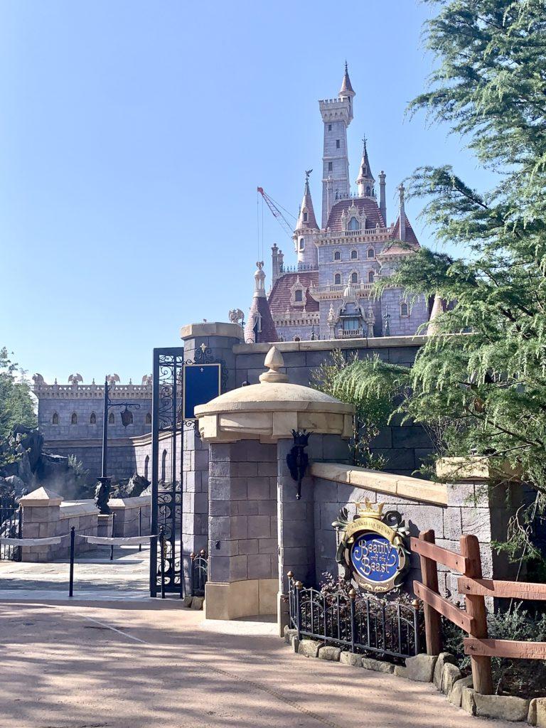 新エリア ディズニーランド 美女と野獣エリア 解説 回り方 楽しみ方 見どころ 美女と野獣 お城