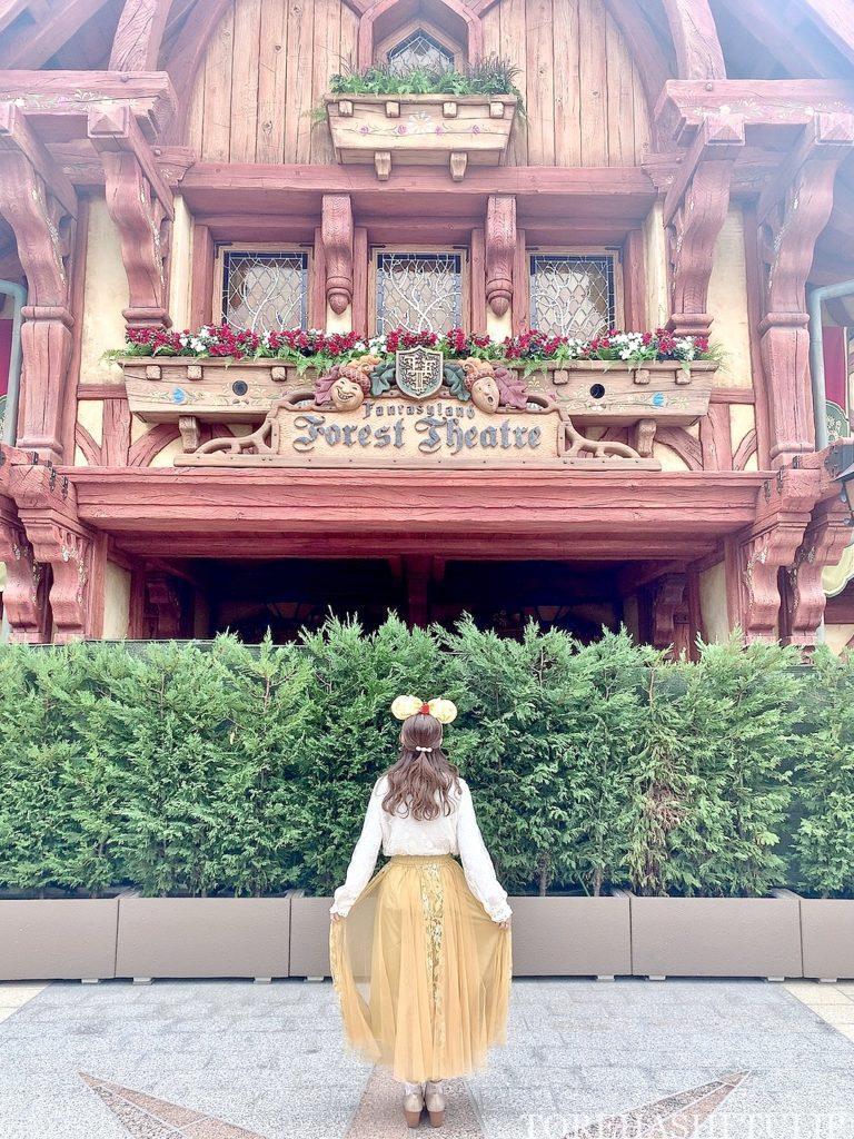 新エリア ディズニーランド 美女と野獣エリア 解説 回り方 楽しみ方 見どころ フォレストシアター