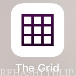 Grid グリッド 写真調整 インスタグラムの計画 インスタグラム アプリ おすすめ 便利アプリ 愛用アプリ紹介