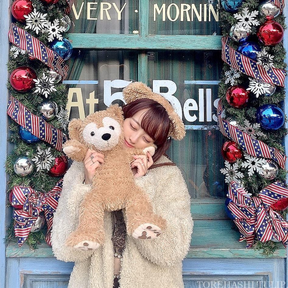 ディズニーシー アメリカンウォーターフロント  ディズニークリスマス クリスマス装飾 インスタ映えスポット 写真ポーズ ダッフィーバウンド