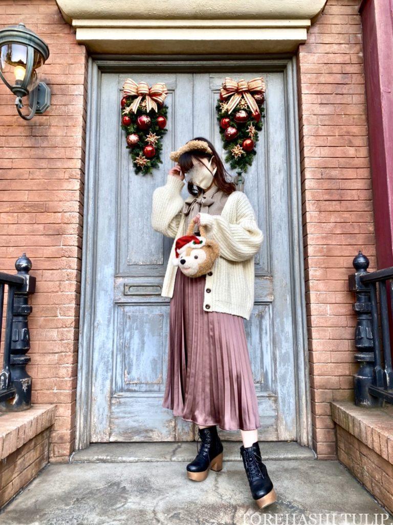 ディズニーシー アメリカンウォーターフロント  ディズニークリスマス クリスマス装飾 インスタ映えスポット 写真ポーズ ダッフィーバウンド マクダックス・デパートメントストア