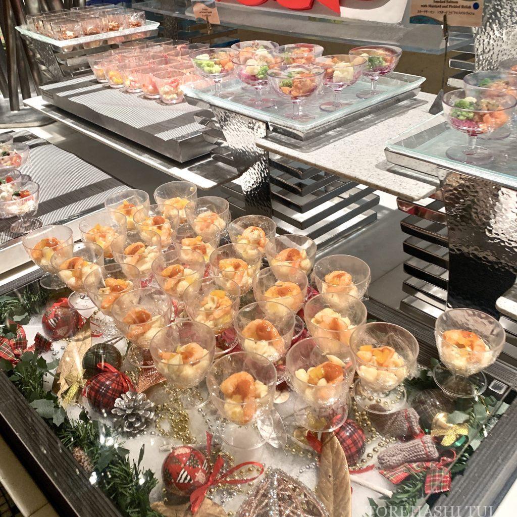 ディズニーシー・ホテルミラコスタ オチェーアノ ディナーブッフェ クリスマス 2020 地域共通クーポン 地中海料理 メニュー 前菜