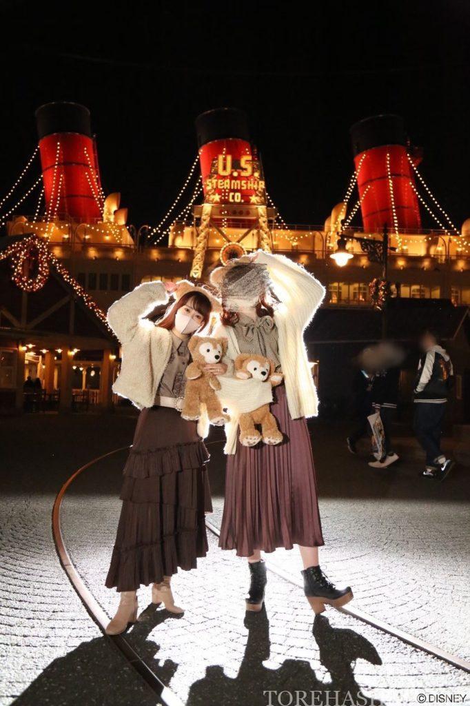 夜景と光の撮影 シルエット撮影 値段 時間 場所 ディズニーランド ディズニーシー  カメラマンキャスト フォトグラファー フォトキー