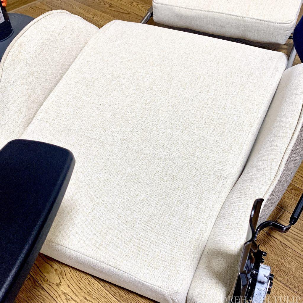 ゲーミングチェア ゲーミング座椅子 椅子 ホワイト 楽天 女性 おしゃれ かわいい インテリア デスクワーク リモートワーク おすすめ Liv House ファブリックハイバックオフィスチェア レビュー 組み立て