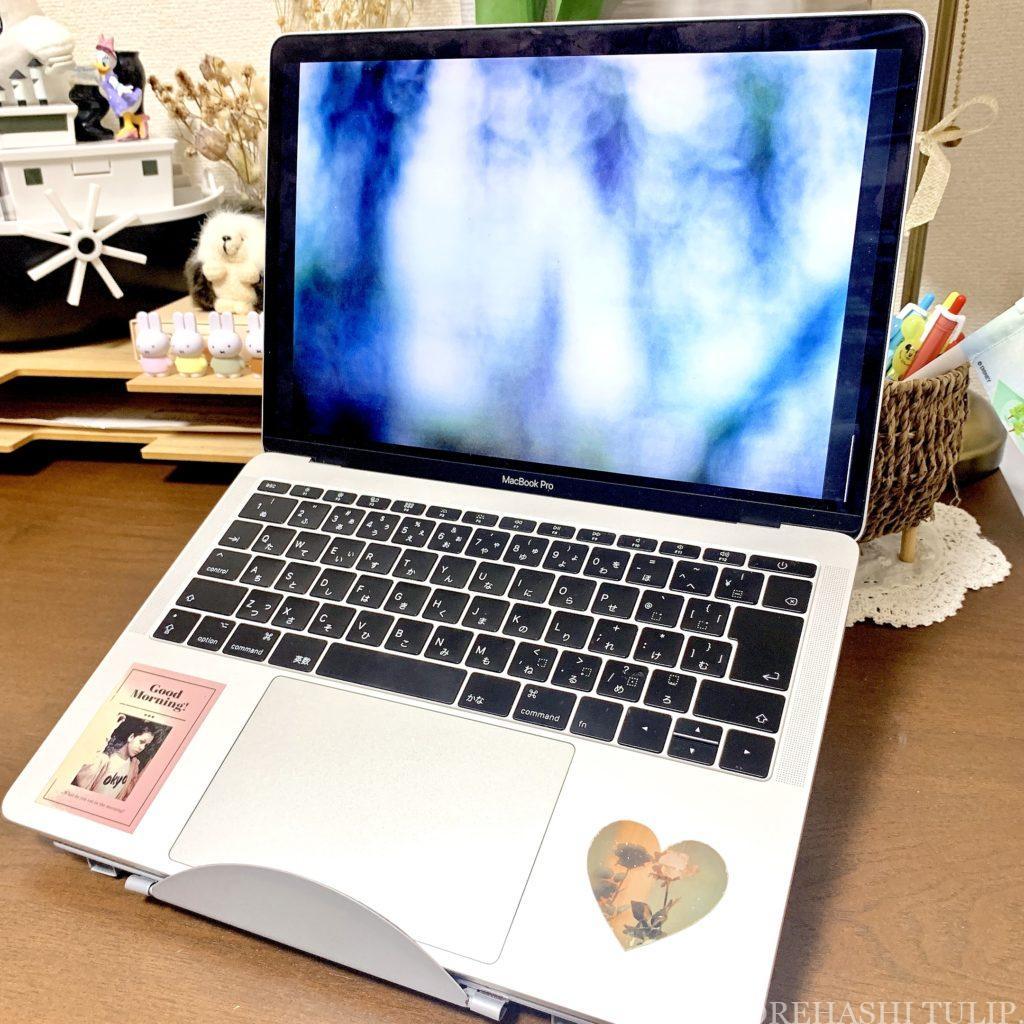 パソコン用品 プチプラ デスク用 女性 おしゃれ かわいい インテリア デスクワーク リモートワーク おすすめ 楽天 ノートパソコンスタンド タブレットスタンド 安い