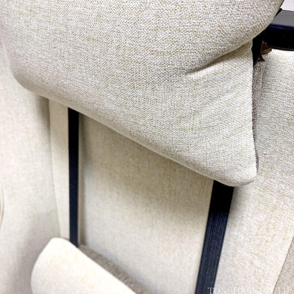ゲーミングチェア ゲーミング座椅子 椅子 ホワイト 楽天 女性 おしゃれ かわいい インテリア デスクワーク リモートワーク おすすめ Liv House ファブリックハイバックオフィスチェア レビュー