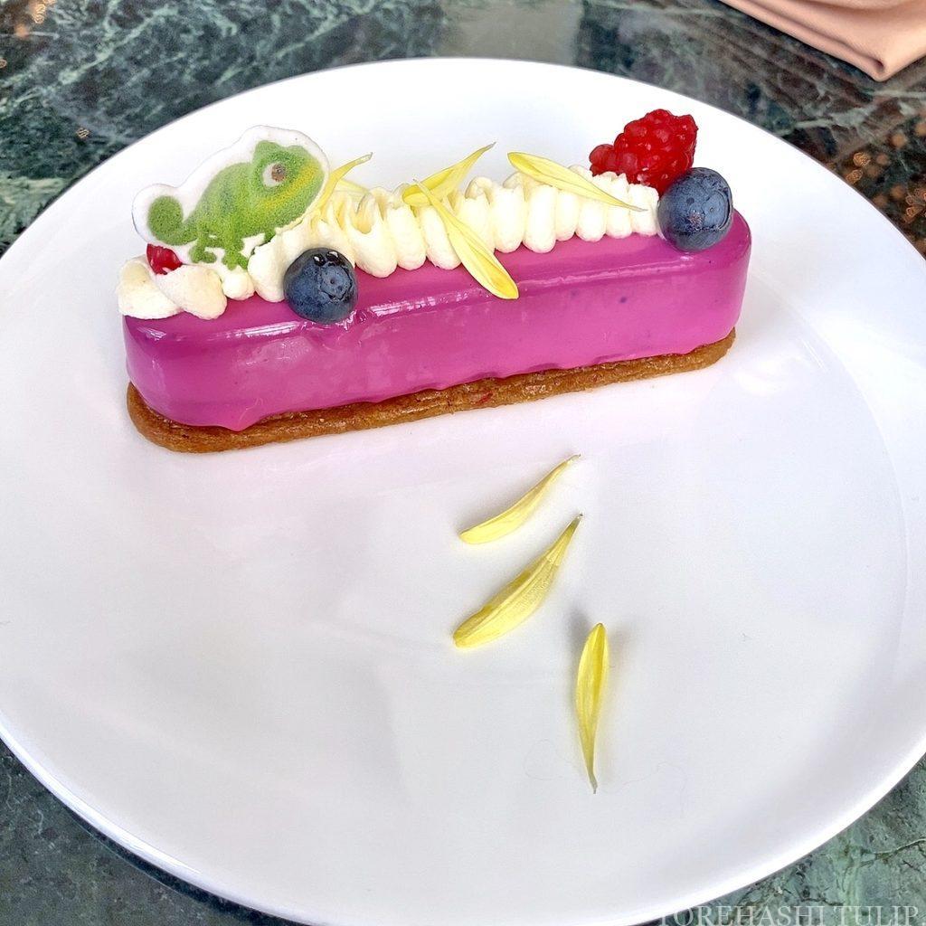 東京ディズニーランドホテル ドリーマーズ・ラウンジ プリンセスケーキセット 予約なし メニュー オーロラ姫 ラプンツェル