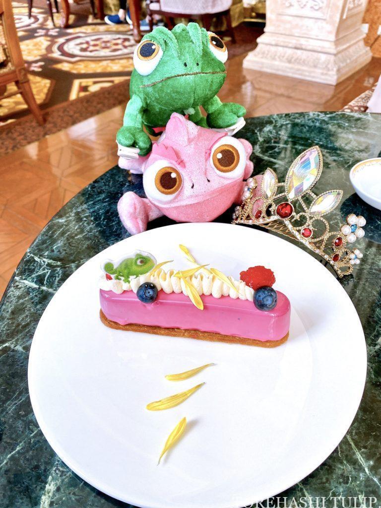 東京ディズニーランドホテル ドリーマーズ・ラウンジ プリンセスケーキセット 美女と野獣ケーキ ベルのケーキ ベルのアイスカフェモカ 予約なし ラプンツェルケーキ