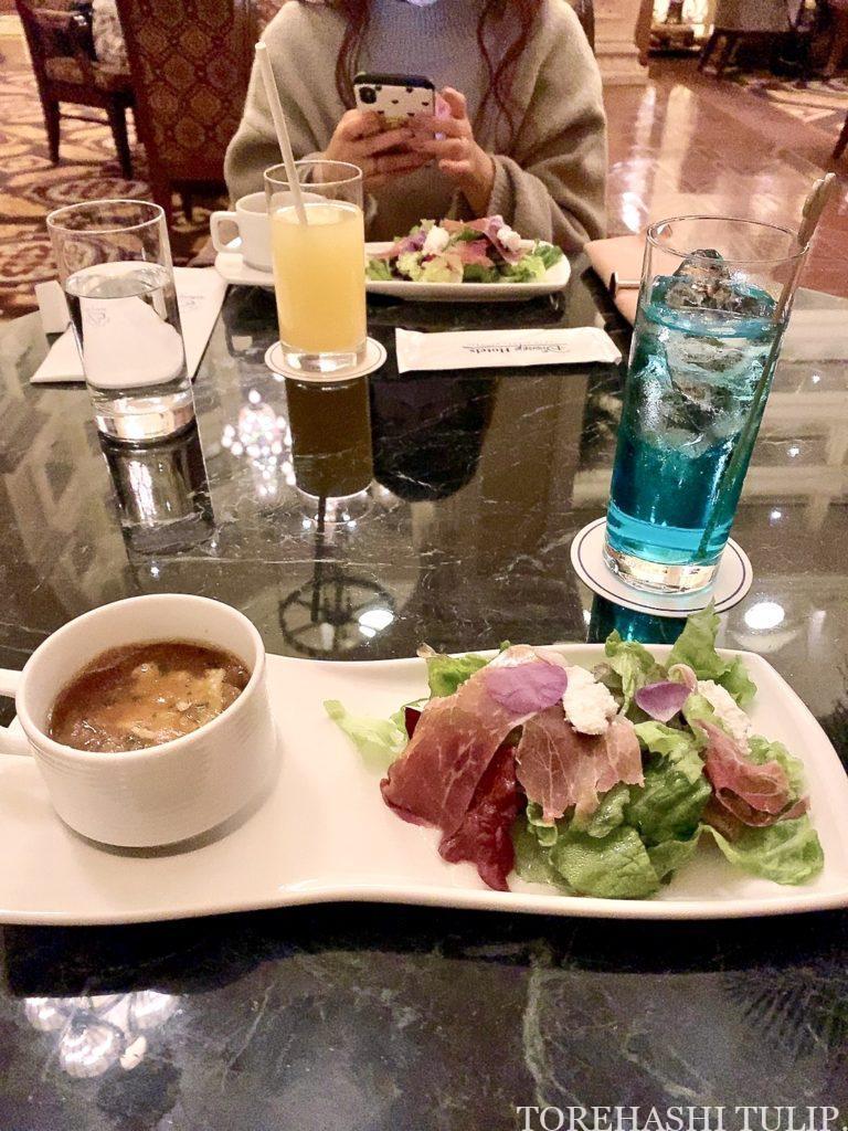 東京ディズニーランドホテル ドリーマーズ・ラウンジ プリンセスケーキセット パスタセット メニュー 予約 2020 2021