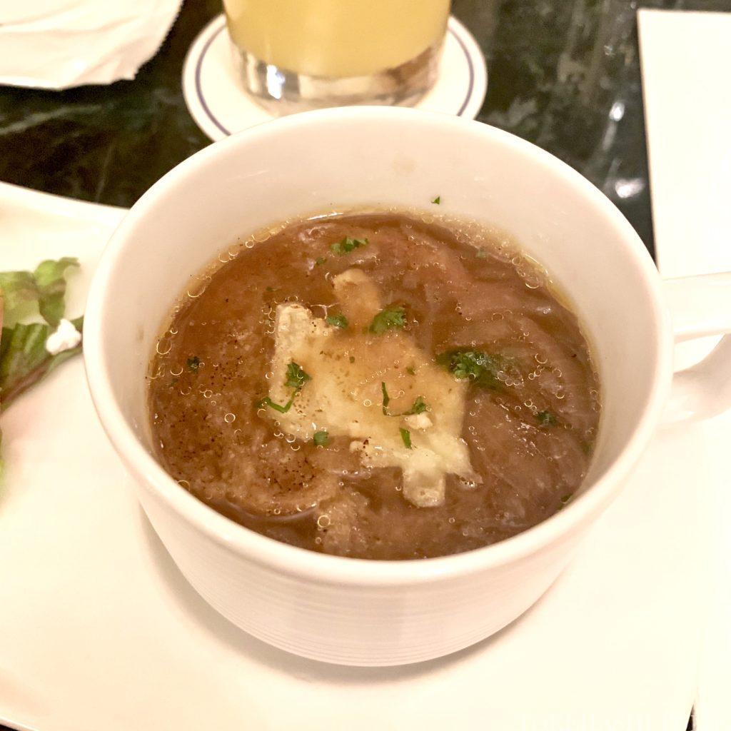 東京ディズニーランドホテル ドリーマーズ・ラウンジ パスタセット 事前予約制 メニュー 前菜 サラダ スープ