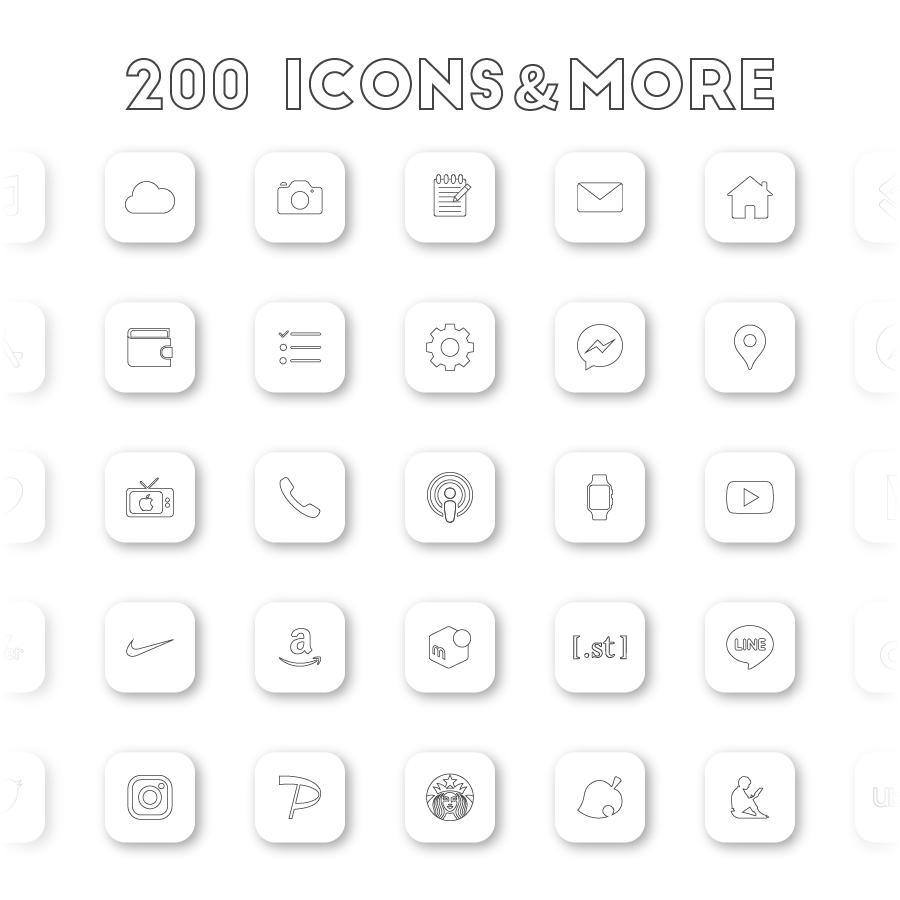 AZ-icon アプリアイコン素材 アイコンパック ホーム画面カスタマイズ おしゃれ 簡単 かわいい 統一感 プチプラ アイコンの種類 壁紙