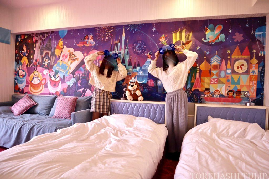 ディズニーホテル 東京ディズニーセレブレーションホテル ウィッシュ 客室 レビュー アメニティー 予約 お部屋紹介