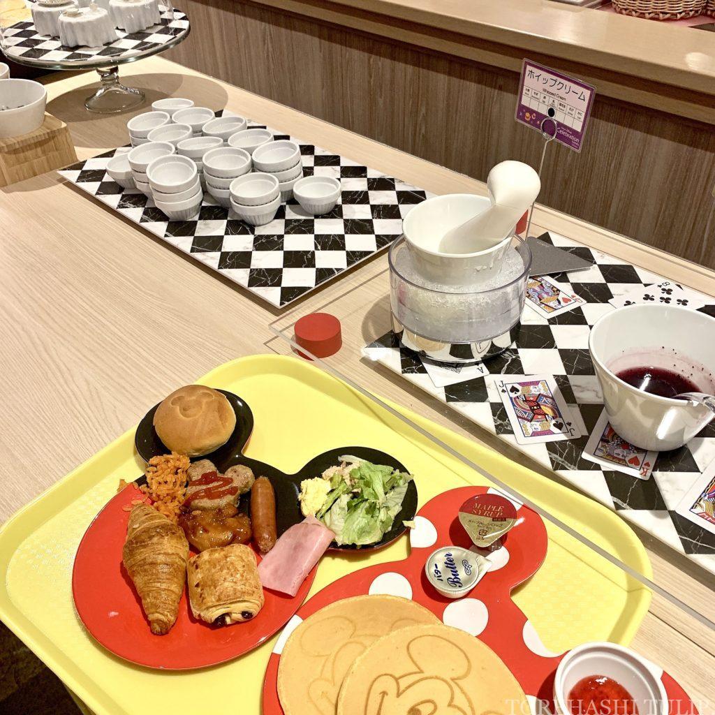 セレブレーションホテル 朝食 ウィッシュ 予約なし 宿泊者以外OK 券売機 2020 メニュー ミッキーパンケーキ かわいい ブッフェ 洋食