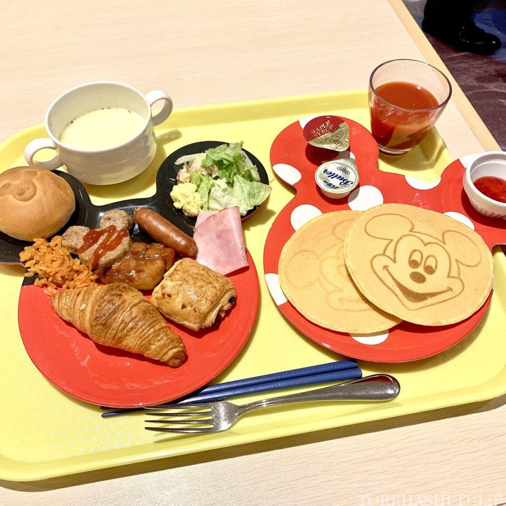 セレブレーションホテル 朝食 ウィッシュ 予約なし 宿泊者以外OK 券売機 2020 メニュー ミッキーパンケーキ ブッフェ