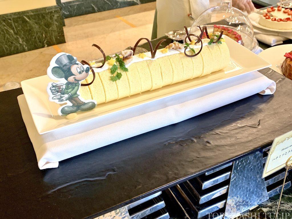 ディズニーランドホテル シャーウッドガーデン・レストラン ランチブッフェ 2021 メニュー 事前予約 時間制限なし ウィンターブッフェ コロナ デザートメニュー ケーキ