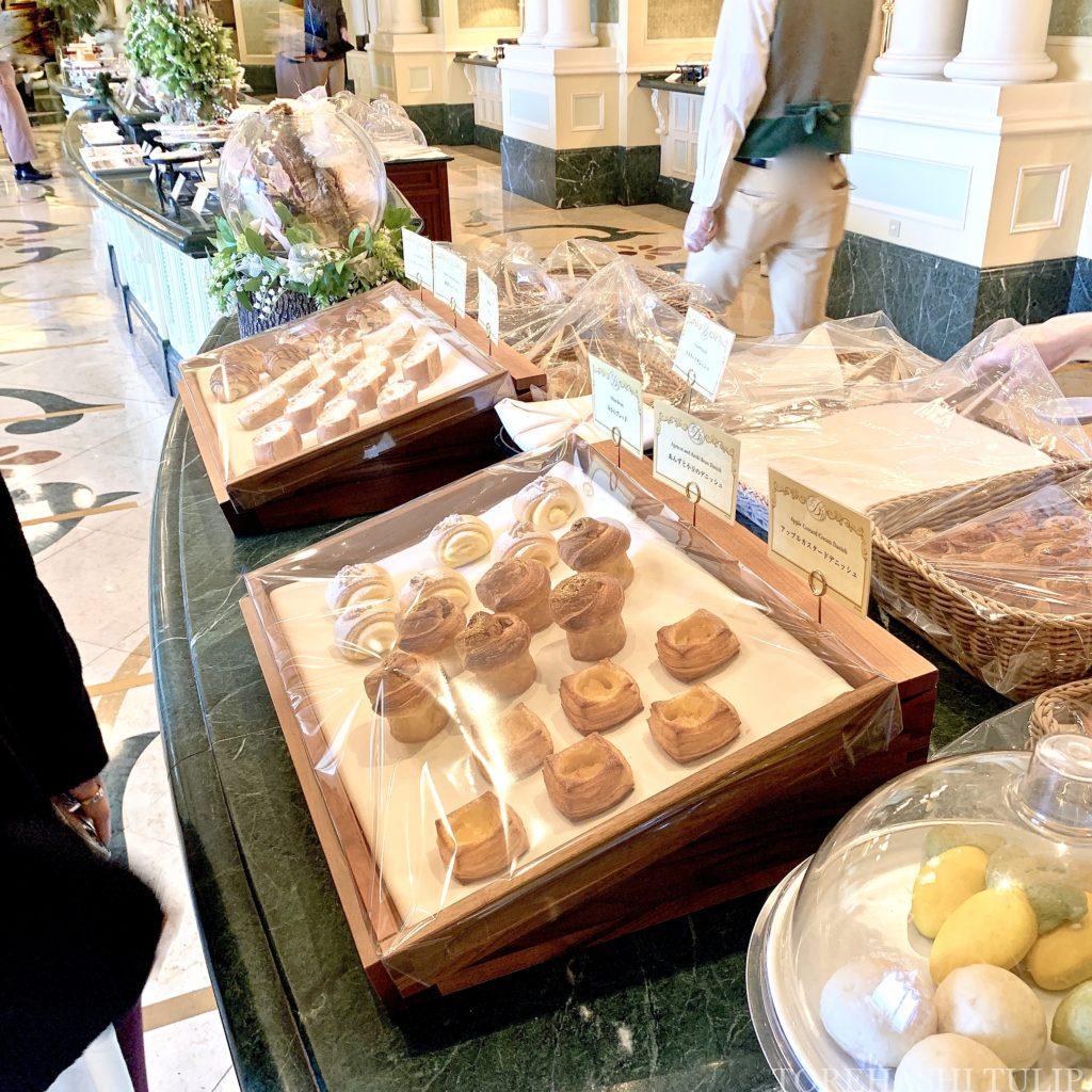 ディズニーランドホテル シャーウッドガーデン・レストラン ランチブッフェ 2021 メニュー 事前予約 時間制限なし ウィンターブッフェ コロナ パン