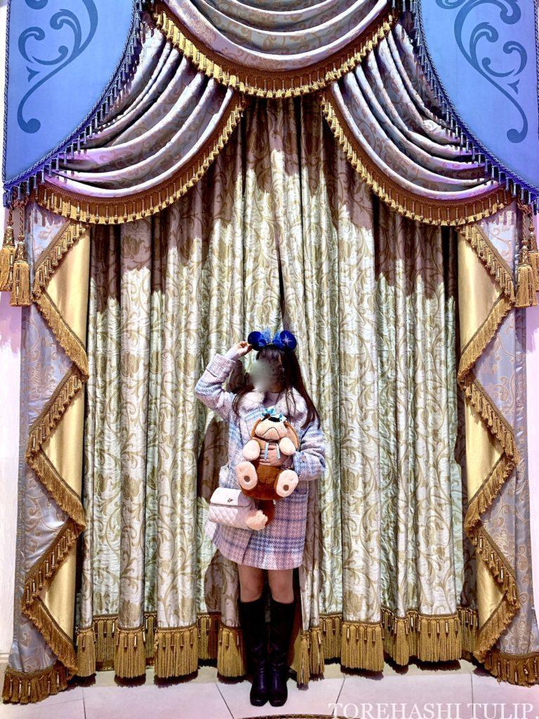 シンデレラのフェアリーホールテイル シンデレラ城 ディズニー ディズニーランド インスタ映えスポット 写真スポット おしゃれ シンデレラ城周辺 キングダムトレジャー