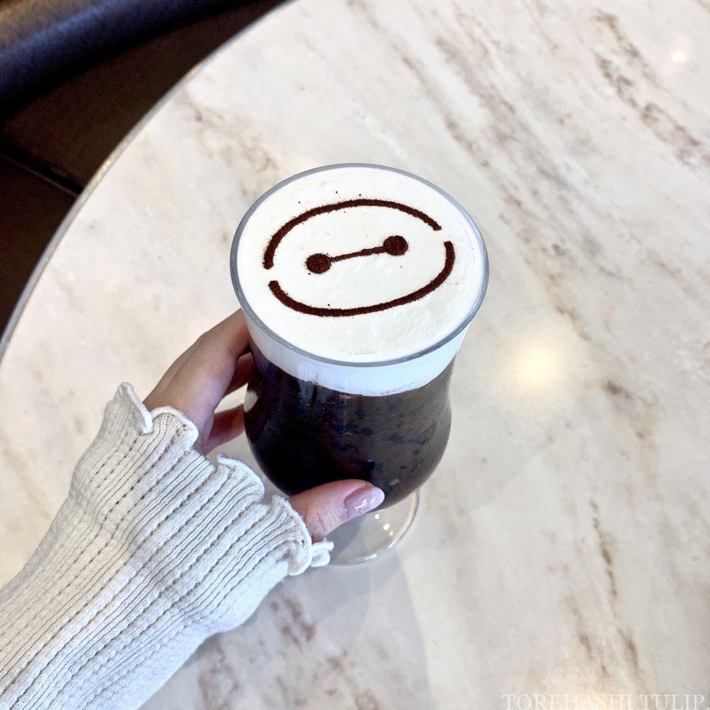 ベイマックス スペシャルメニュー フード ハッピーフェア・ウィズ・ベイマックス インスタ映え メニュー 値段 アイスカフェモカ センターストリートコーヒーハウス 事前予約